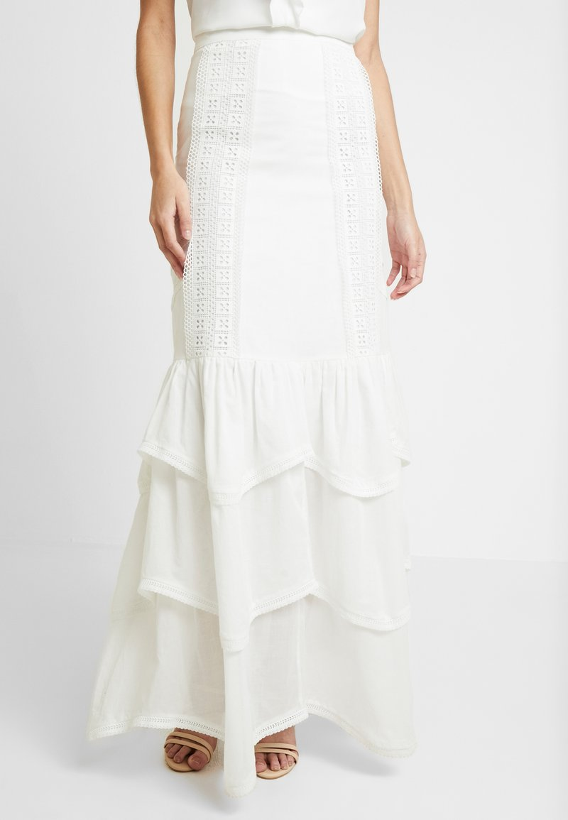 We are Kindred - SORRENTO SKIRT - Maxi sukně - ivory