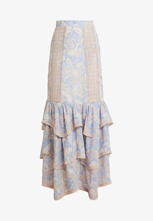SORRENTO SKIRT - Maxi sukně - cornflower