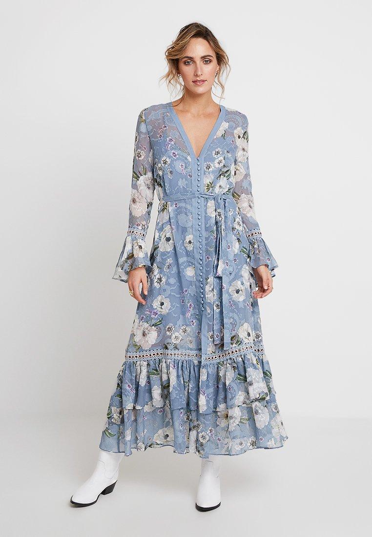 We are Kindred - TABITHA DRESS - Maxikleid - light blue/white