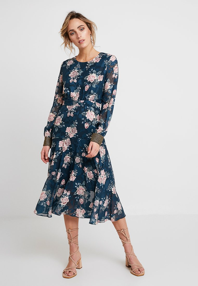 We are Kindred - LUCILLE MIDI DRESS - Day dress - ink