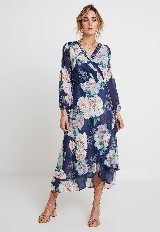 JOSEPHINE MIDI DRESS - Denní šaty - water lillies