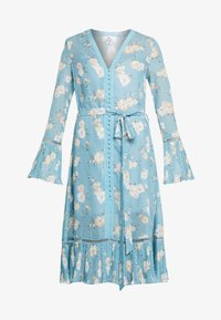 We are Kindred - MIA DRESS - Skjortekjole - teal posey - 3