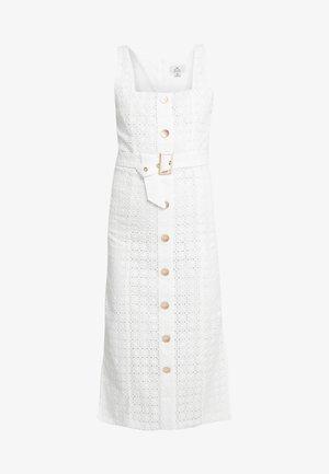 LULU MIDI DRESS - Robe d'été - white