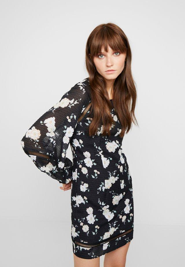MIA MINI DRESS - Denní šaty - black