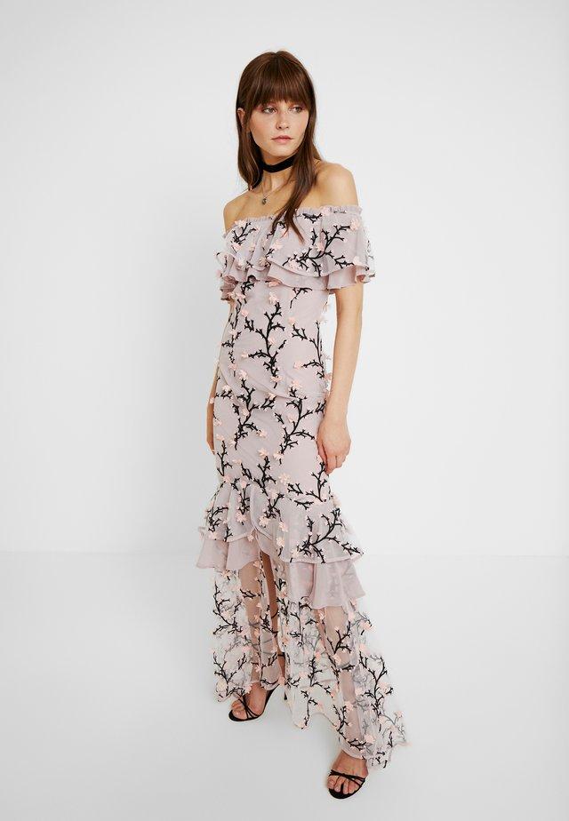 CHARLOTTE OFF SHOULDER DRESS - Robe de cocktail - rosebud
