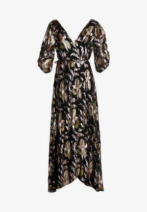 HARLOW WRAP MAXI DRESS - Iltapuku - reflections