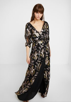 HARLOW WRAP MAXI DRESS - Vestido de fiesta - reflections