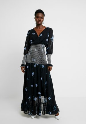 HAVANA MAXI DRESS - Maxikjole - black iris