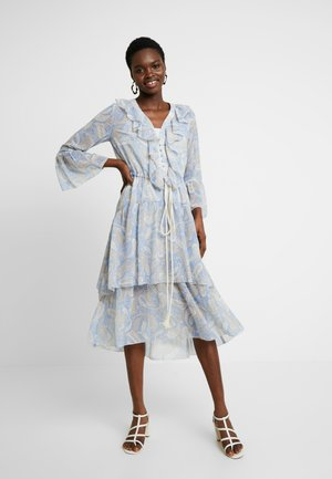 AMALFI DRESS - Day dress - cornflower paisley