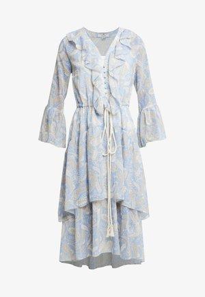 AMALFI DRESS - Day dress - cornflower paisley