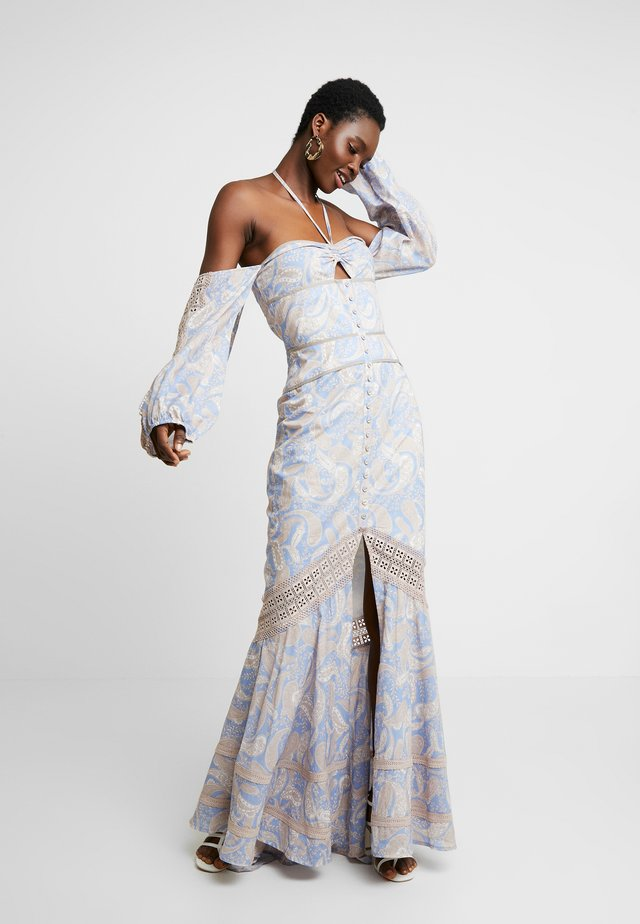 SORRENTO DRESS - Maxi dress - cornflower