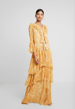 AMALFI DRESS - Maxikjole - sunflower