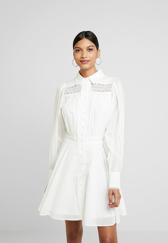SORRENTOMINI DRESS - Shirt dress - ivory