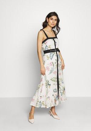 HAZEL DAY DRESS - Sukienka letnia - ecru delphinum