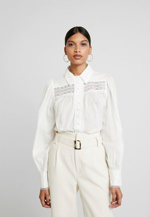SORRENTO BLOUSE - Button-down blouse - ivory