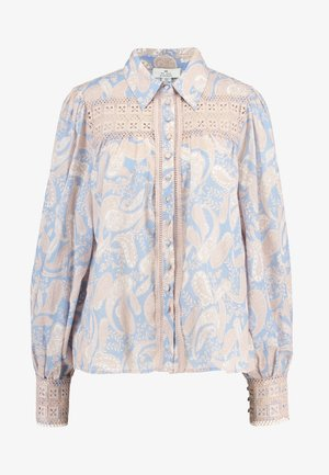 SORRENTO BLOUSE - Camisa - cornflower