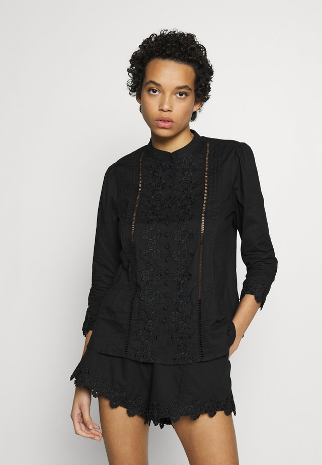 BEATRIX  - Button-down blouse - black daisy