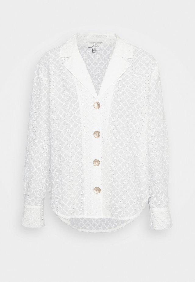 BRONTE LOOSE - Košile - white