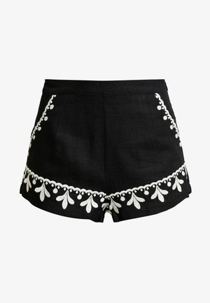 POSITANO - Shorts - noir filigree