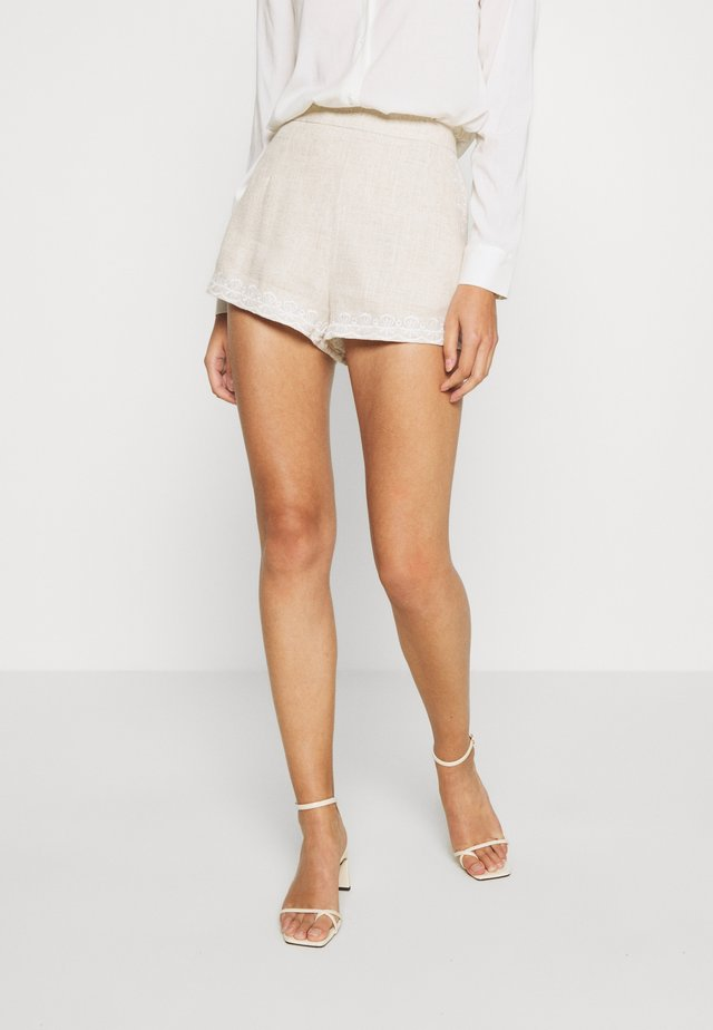 IMOGEN  - Shorts - oatmeal
