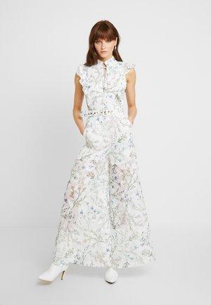 AMBROSIA FRILL - Tuta jumpsuit - white