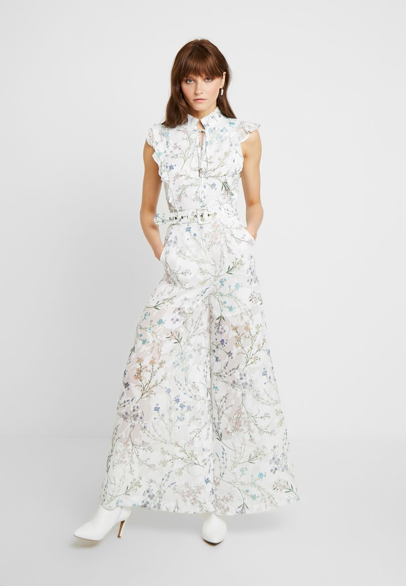 We are Kindred - AMBROSIA FRILL - Overall / Jumpsuit /Buksedragter - white