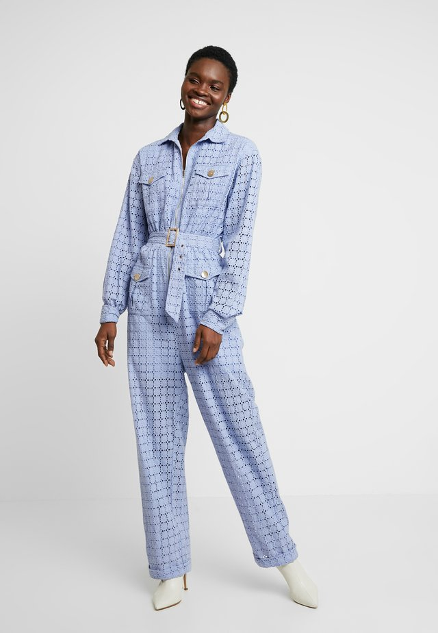 VIENNA BOILERSUIT - Jumpsuit - cornflower