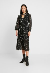 Wednesday's Girl - TIE NECK MIDAXI DRESS - Day dress - galaxy - 0