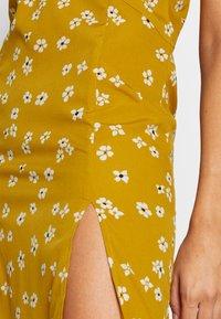 Wednesday's Girl - DROP SHOULDER BALLOON SLEEVE MINI DRESS - Shirt dress - beige - 4