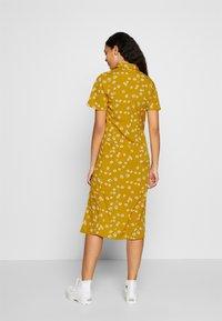 Wednesday's Girl - DROP SHOULDER BALLOON SLEEVE MINI DRESS - Shirt dress - beige - 2