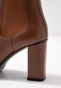 What For - CAMILLA - Bottines à talons hauts - dark brown - 6