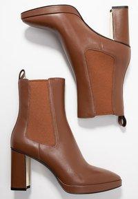 What For - CAMILLA - Bottines à talons hauts - dark brown - 5