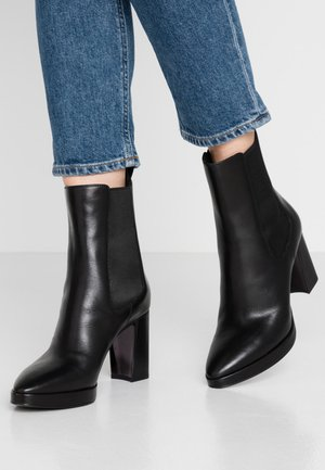 CAMILLA - Bottines à talons hauts - black