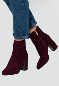 What For - MIALA - Bottines à talons hauts - dark purpl - 0