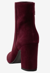 What For - MIALA - Bottines à talons hauts - dark purpl
