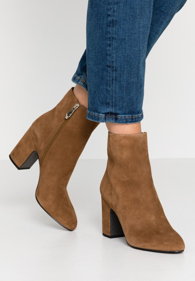 What For - MIALA - High heeled ankle boots - light brown