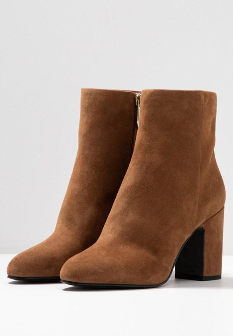 What For MIALA - Bottines à talons hauts light brown