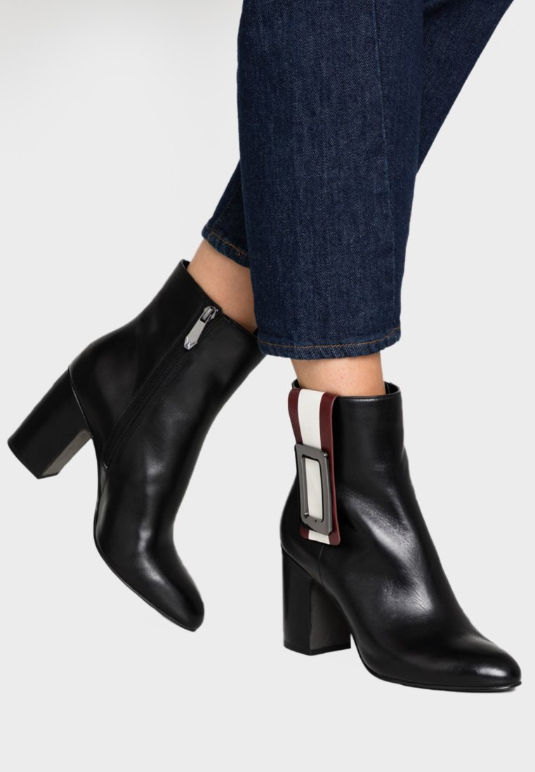 What For - DIEGO - High heeled ankle boots - black