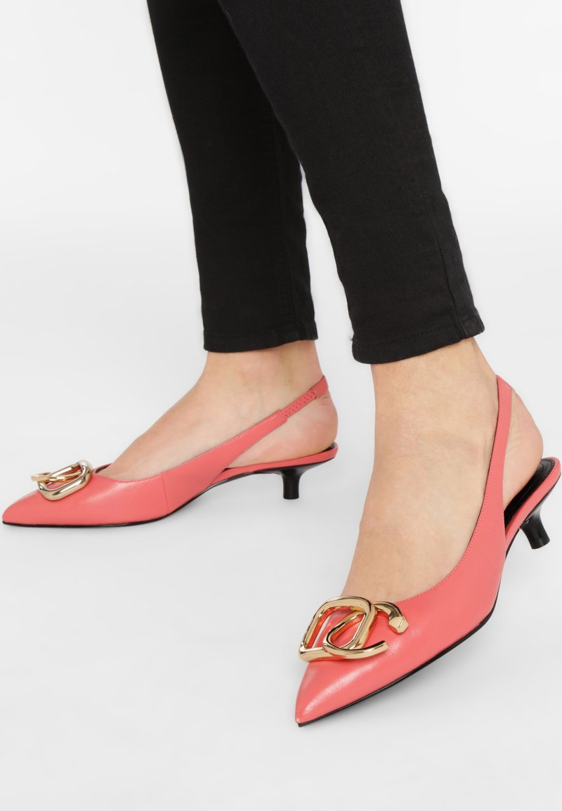 What For - Ballerines - coral