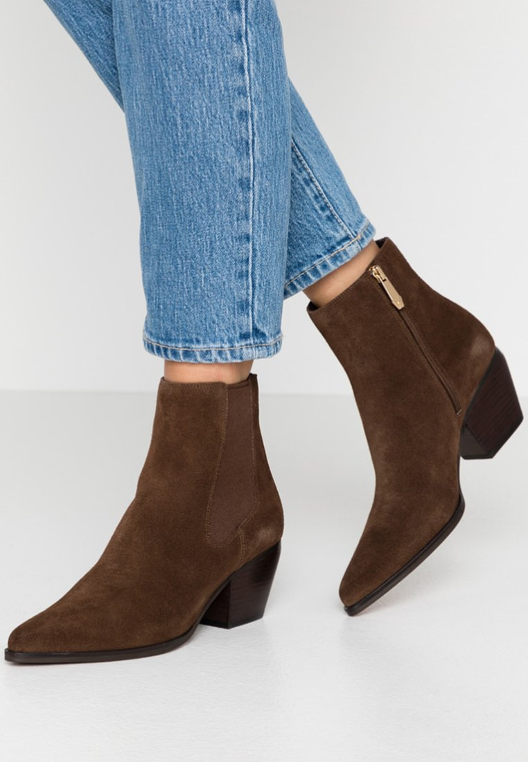 What For - SCAVO - Ankle boots - dark brown