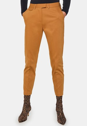 WE FASHION DAMEN-SLIM-FIT-CHINOS - Chinot - brown
