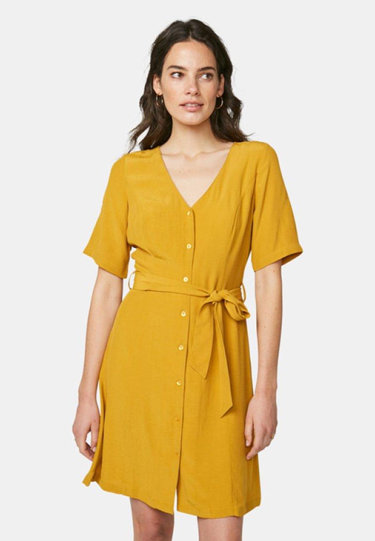 WE Fashion - Day dress - mustard yellow