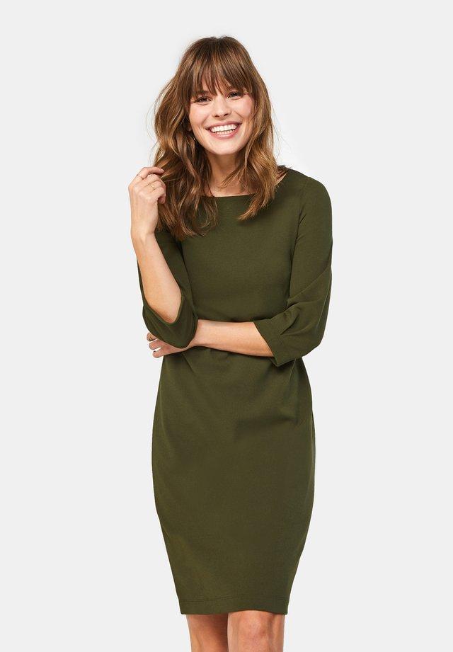 Korte jurk - army green