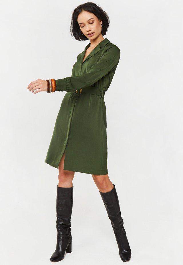 Vestido informal - dark green