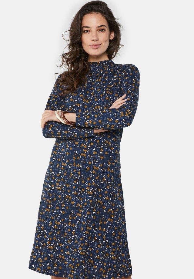 MET DESSIN - Korte jurk - blue
