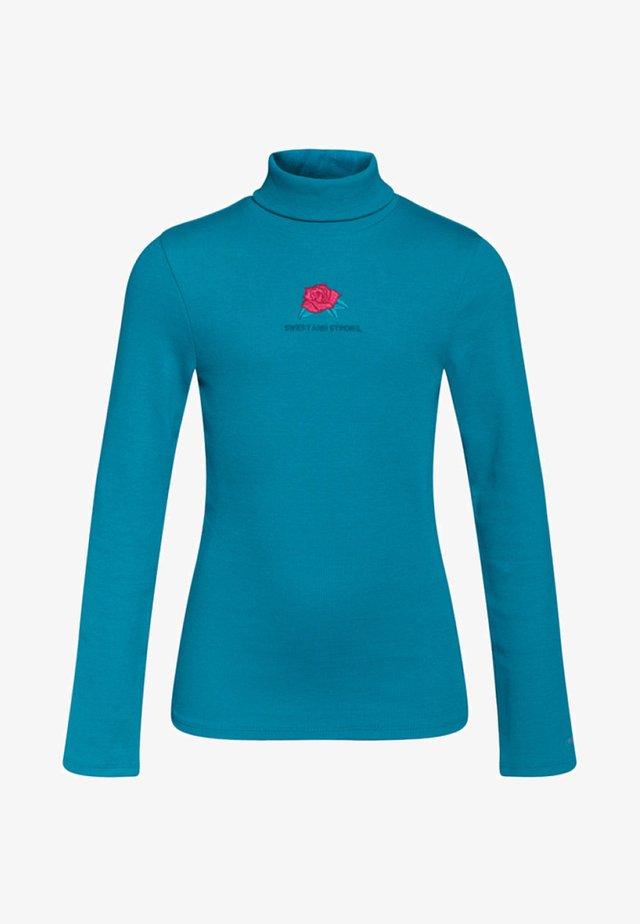 Maglietta a manica lunga - turquoise