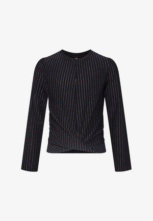 MET GLITTERGAREN - Maglietta a manica lunga - dark blue
