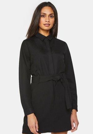 REGULAR FIT - Button-down blouse - black