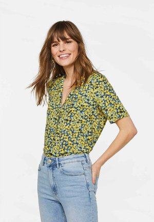 MIT MUSTER - Button-down blouse - green