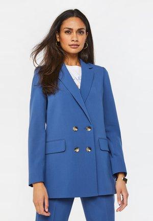 Manteau court - mottled dark blue